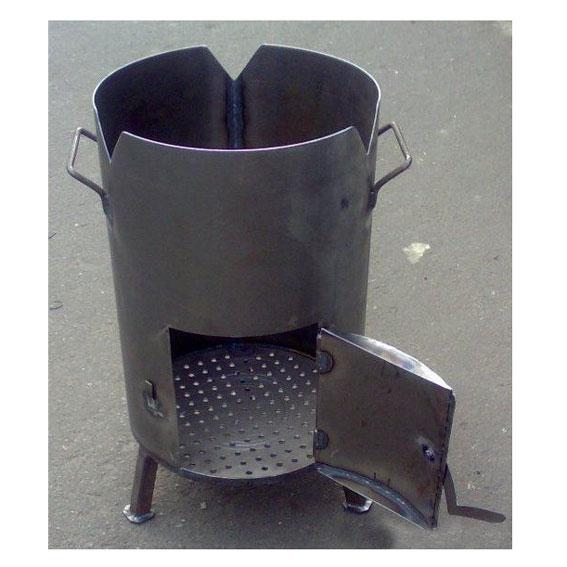 Подставка для казана из трубы