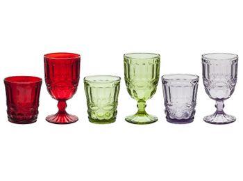 Цветные бокалы